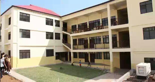 Ultra Modern Classroom ~ Ultra modern school block for dansoman community launched